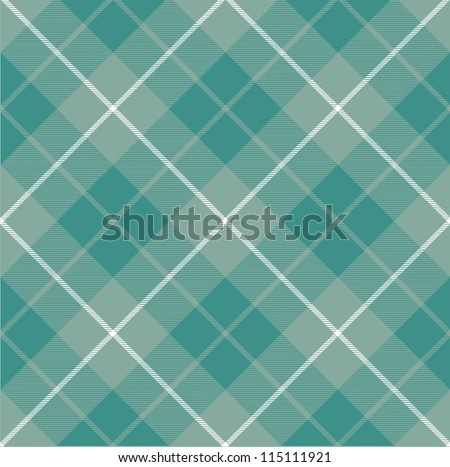 Seamless checkered vector pattern (tartan). - stock vector