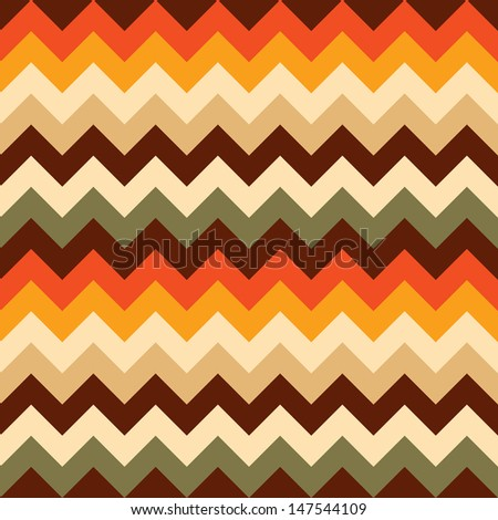 seamless chevron pattern, vector (eps8) - stock vector