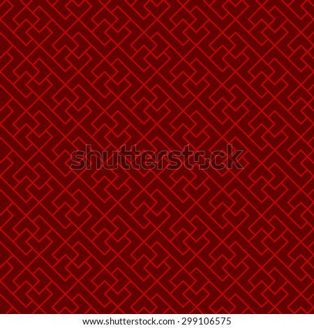 Seamless Chinese window tracery cross geometry line pattern background. Seamless background image of vintage Chinese style window tracery cross geometry line pattern.