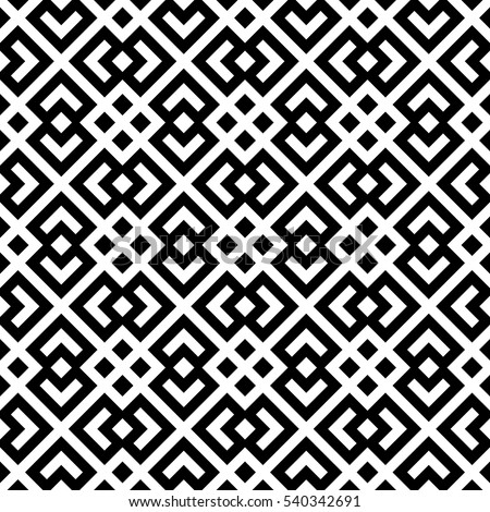 82 Black Trellis Pattern Magnificent Black And White