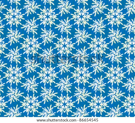 seamless christmas frost pattern background