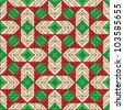 Seamless Christmas pattern, background, wallpaper, print or swatch ( for high res JPEG or TIFF see image 103585658 )
