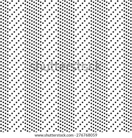 Seamless Circle and Stripe Pattern. Vector Regular Texture - stock vector