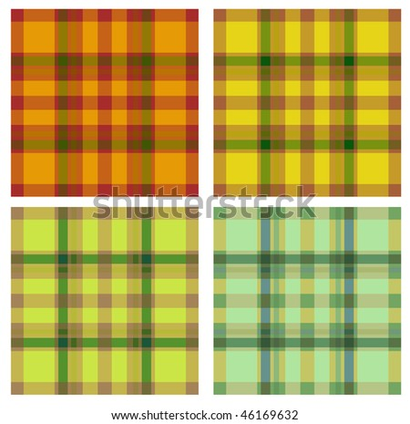 seamless colored textile texture - stock vector