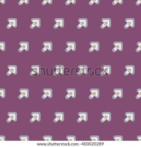 Seamless colorful abstract pattern from arrow - stock vector