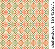 seamless colorful geometric pattern - stock