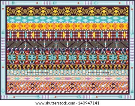 Rug twining loom rag