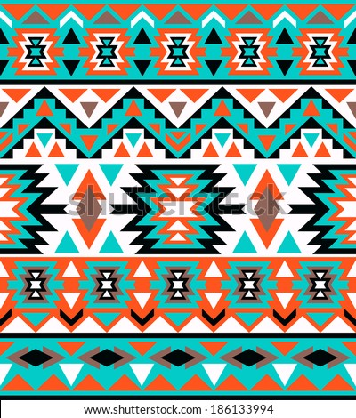 navajo designs patterns. Seamless Colorful Navajo Pattern Designs Patterns A