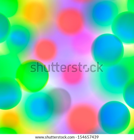 Seamless colorful pattern with circles in candy colors, vector illustration.