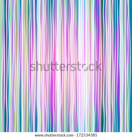 Seamless colorful striped pattern with translucent wave strips (vector eps 10) - stock vector