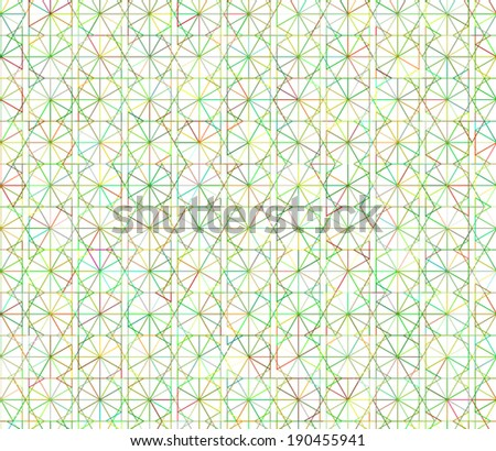 Seamless cross pattern in various color.