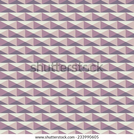 seamless cube wall - stock vector