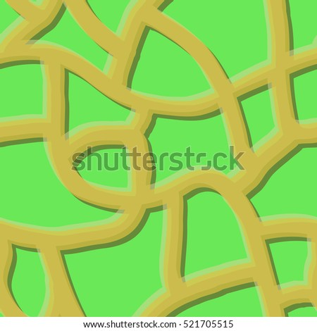 Seamless Curve Pattern