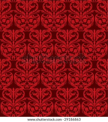 Seamless Damask - pattern