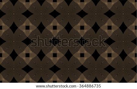 Seamless decor - stock vector
