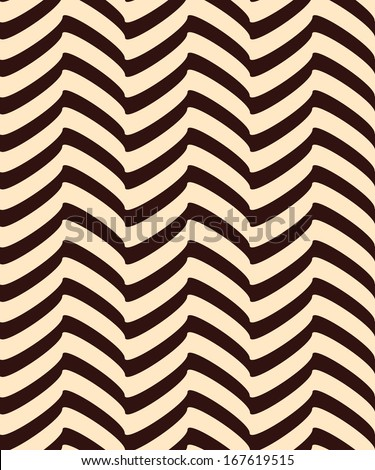 Seamless decor. Broken lines create the illusion of volume. - stock vector