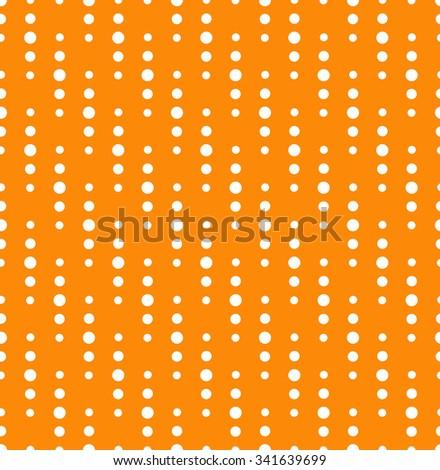 Seamless diagonal dots pattern - stock vector