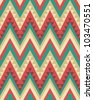 Seamless ethnic pattern - stock vector