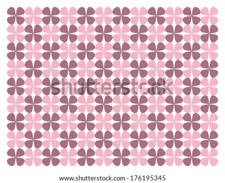 Seamless floral abstract pattern and background - stock vector