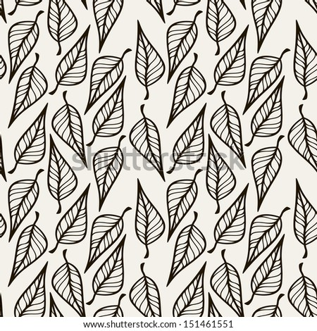 Seamless floral pattern. Stylish repeating texture. Repeating texture - stock vector