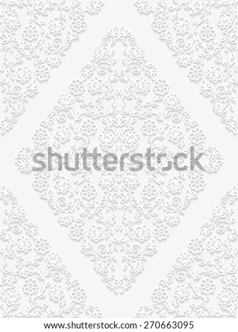 Seamless floral pattern. Vector illustration  - stock vector