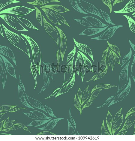 seamless floral retro pattern for wallpaper - stock vector