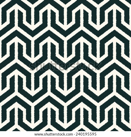 seamless geometric abstract mesh pattern - stock vector