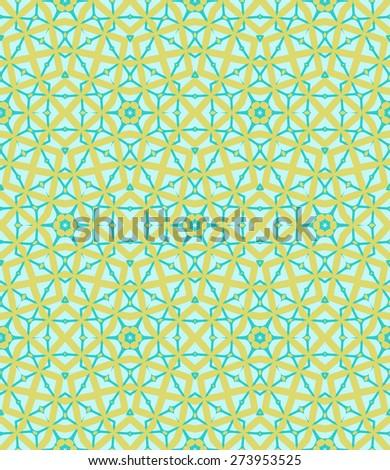 Seamless geometric background, mosaic pattern, vector illustration
