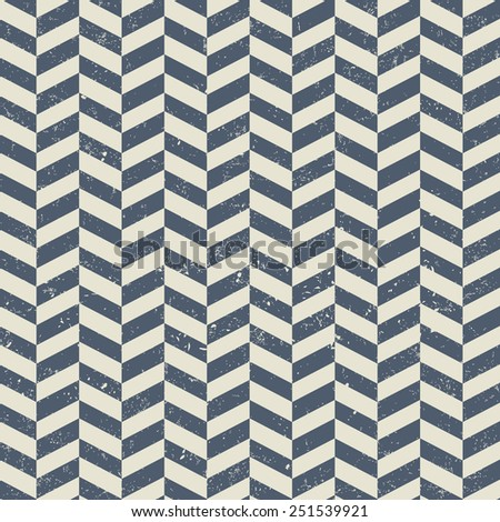 Seamless geometric chevron pattern - stock vector