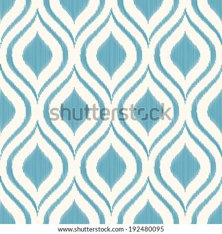 seamless geometric ornament pattern - stock vector