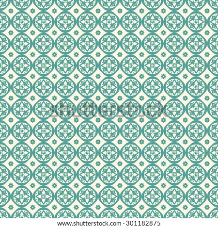 Seamless geometric ornament. Pattern can be used for wallpaper, textures