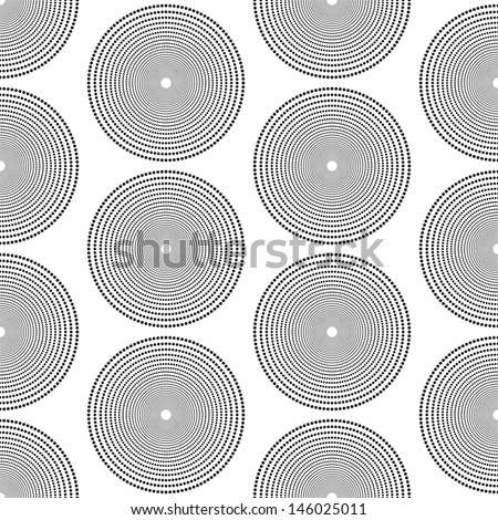 Seamless Geometric Pattern - stock vector