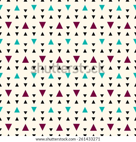 Seamless geometric pattern. - stock vector