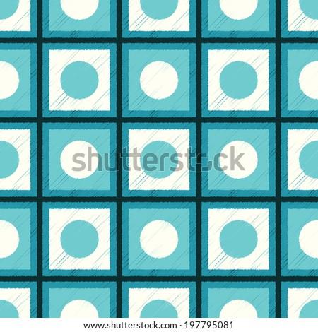 seamless geometric pattern background wallpaper - stock vector