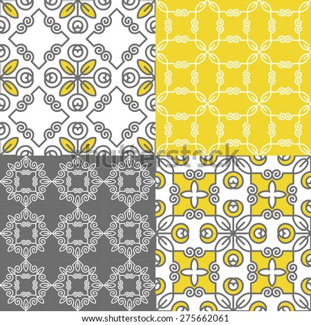 Seamless geometric pattern. Decorative background for cards, illustration, poster and web design. - stock vector