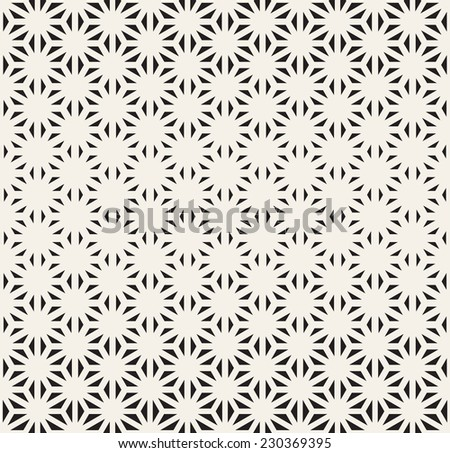 Seamless geometric pattern. Geometric reticulate grid. Vector texture with thickness which decreases gradually - stock vector