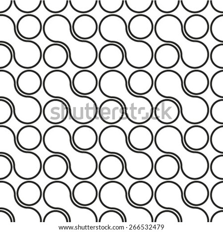 Seamless geometric pattern. Geometric simple print. Vector repeating texture. - stock vector