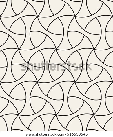 Seamless geometric pattern. Geometric simple print. Vector repeating texture. Stylish linear grid.