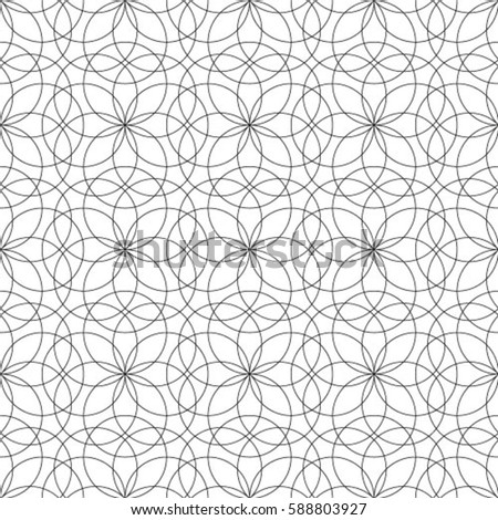 Mc Escher Coloring Pages additionally Seamless Geometric Pattern Circles On White 588803927 moreover Squiggly lines likewise Black And White Vectors additionally Curly pattern. on tiling pattern with circles
