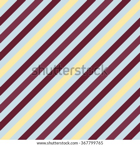 Seamless geometric pattern. Stripy texture for neck tie. Diagonal contrast strips on background. Brown, vinous, beige, gray colors. Vector - stock vector