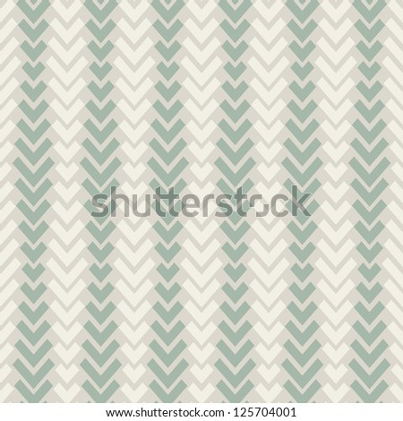 Seamless geometric pattern with pastel ticks. Vector repeating background - stock vector