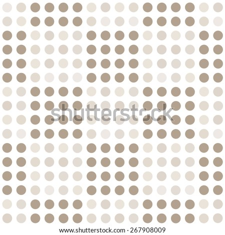 Seamless geometric pattern with square of circles on a white background. Vector illustration - stock vector