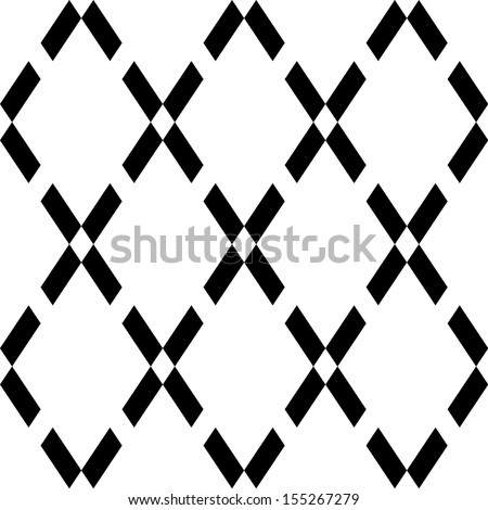 Seamless geometric simple pattern background - stock vector