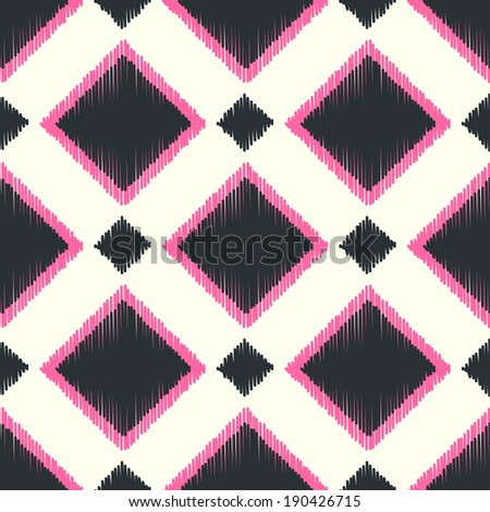 seamless geometric square background - stock vector