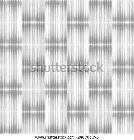 Seamless geometric striped texture. No gradient. Vector art. - stock vector