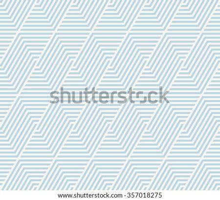 seamless geometric striped vector pattern. - stock vector