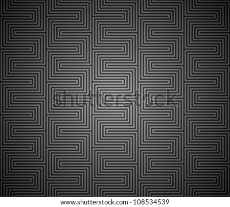 Seamless geometric texture - stock vector