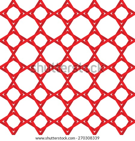seamless geometric vector pattern. - stock vector
