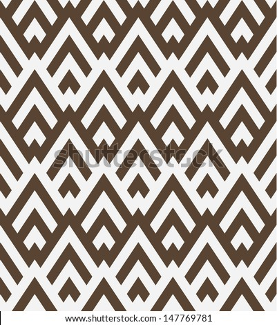 Seamless geometric vector pattern background - stock vector