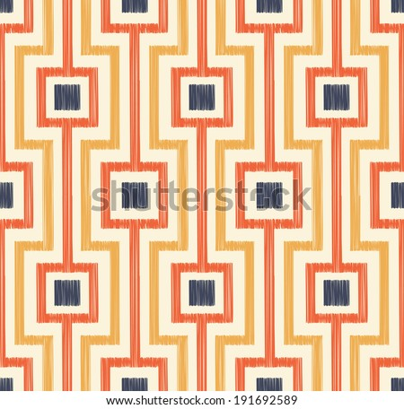 seamless geometrical pattern - stock vector